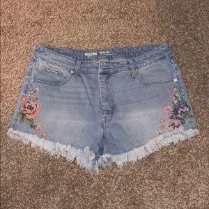 High-Waisted Mossimo Shorts